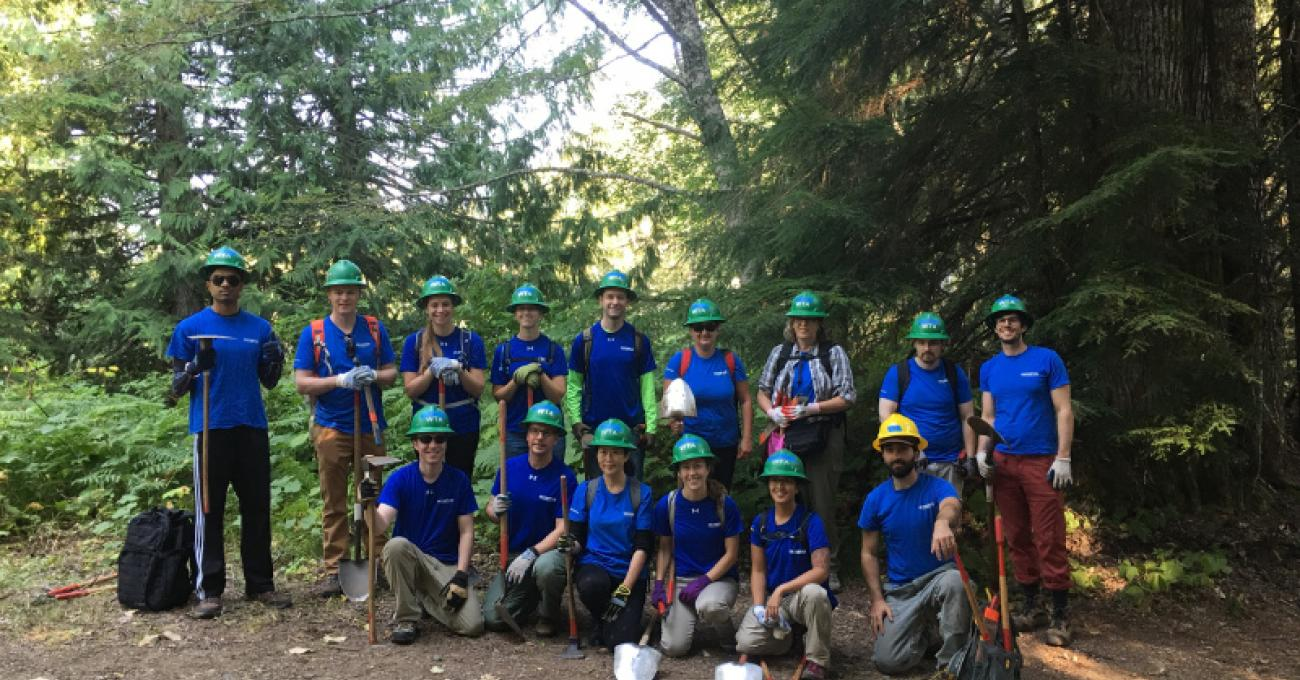 Redmond Trail Clean Up